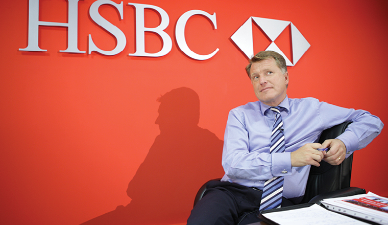 Is HSBC ready to go east?