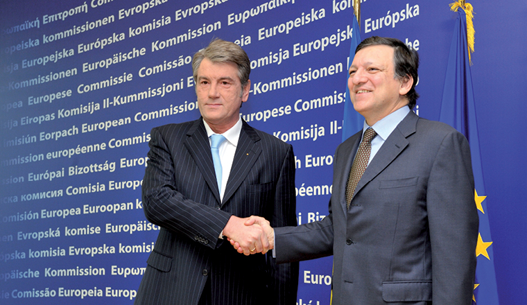 EU, IMF support