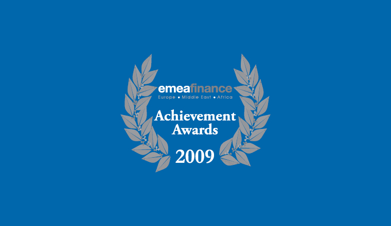 Achievement Awards 2009: Structured finance and securitisation