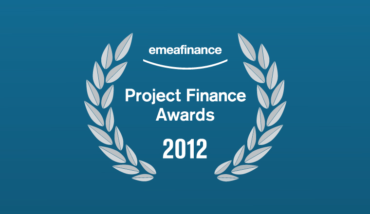 Project Finance Awards 2012