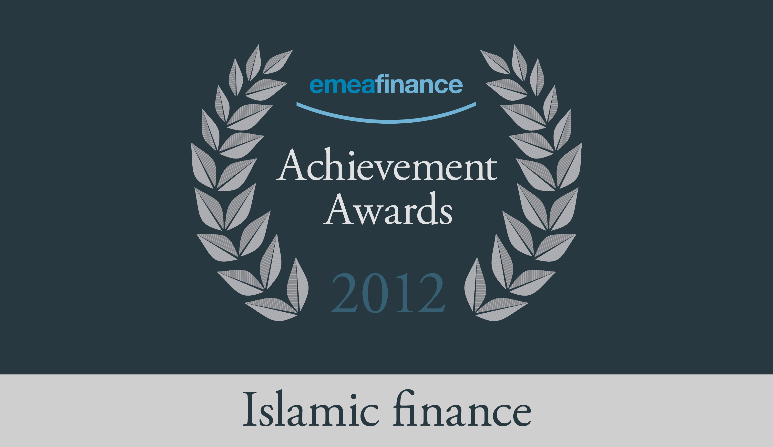 Achievement Awards 2012: Islamic finance