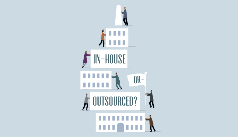 Corporate treasury: In-house or outsourced?