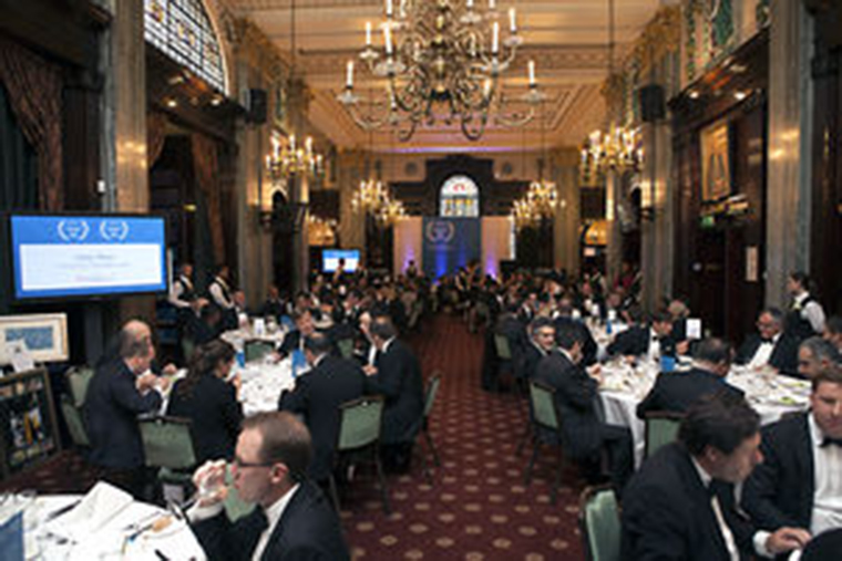 EMEA Finance Achievement Awards 2014 ceremony