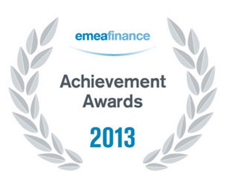 Achievement Awards 2013 winners: Syndicated loans / Structured finance
