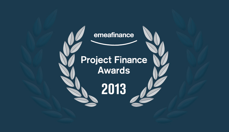 Project Finance Awards 2013
