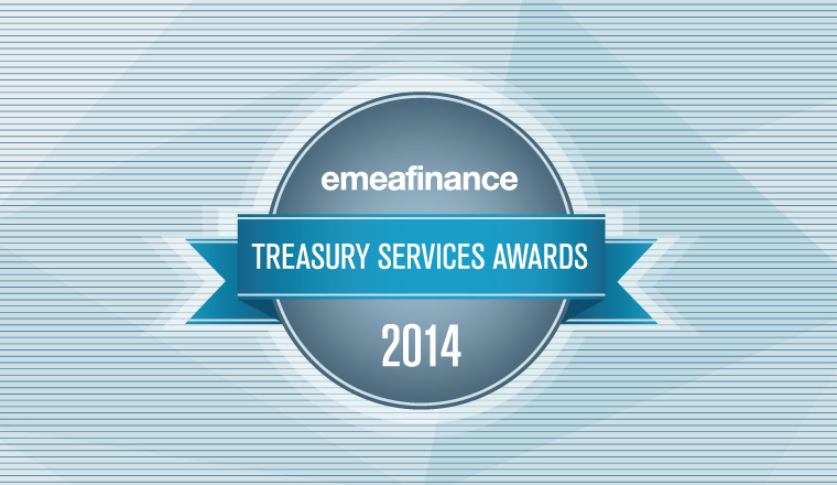 Treasury Services Awards 2014