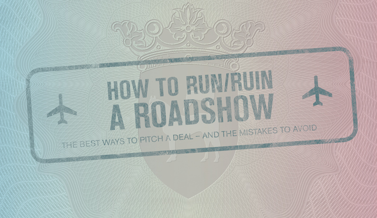 Cover story: Running a roadshow