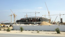 Qatar: Bankers in hard hats