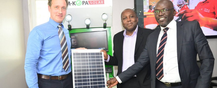 M-Kopa shines with record loan to off grid firm